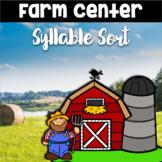 Farm Syllable Sort