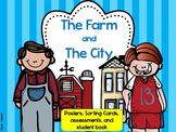 Farm and City Habitats: Sorting, Student-Books, and Scrambles