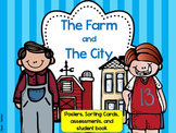 Farm and City Habitats: Sorting, Student-Books, and Scrambles