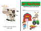 Farm and Pet Animal Emergent Reader Book Grade - 1 with Sight Words