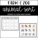 Farm and Zoo Animal Sort