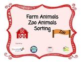 Farm and Zoo Sort