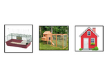 Farm animal homes- Cut and paste activity.