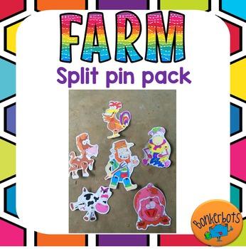 Farm Split Pin Pack