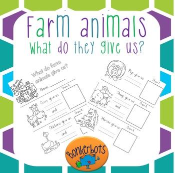 Farm animals: What do they give us?