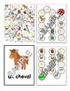 Farm animals / A la ferme FRENCH Games and Workbook Package