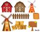 Farm animals,Farm animal Clipart,Farm Clipart,Farm Paper B