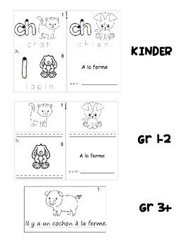 Farm animals / Los animales de la granja SPANISH Workbook & Games Package
