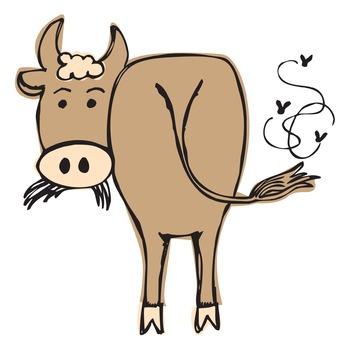 Farm animals clipart set