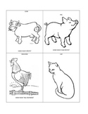 Farm animals - fill in the missing part!