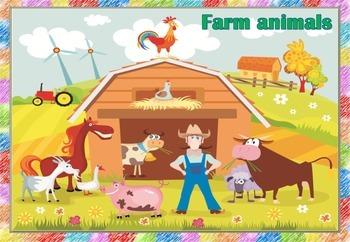 Farm animals (flashcards)