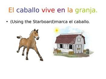 Farm animals in Spanish- Animales de la Granja