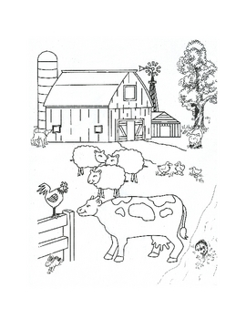 Farm animals pictures Partner speaking activity