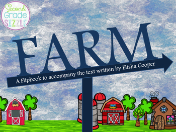 Farm by Elisha Cooper Reader's Notebook Interactive Flipbook!
