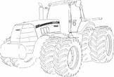 Farm, case tractor