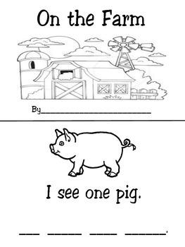 Farm mini book