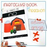 Farm or Granja Negation Interactive Book for Spanish Speec
