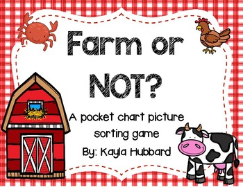 Farm or Not? Picture Sorting Activity