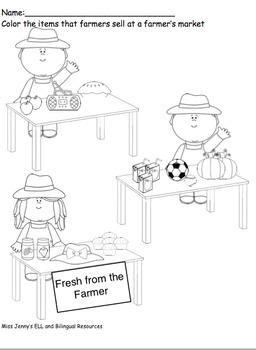 OWL Pre-k Unit 3 Farm packet  +  2 Printable books!