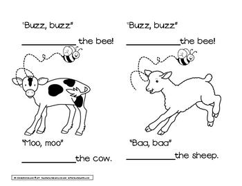 Farm sight word book