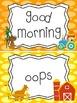Farm themed Behavior Clip Chart-5 Cards