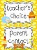 Farm themed Behavior Clip Chart-8 Cards