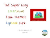 Farm-themed Interactive Lapbook Activity Pack