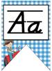 Farm themed Little Farmer D'nealian manuscript Alphabet St