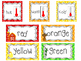 Farm themed Printable Weekly Focus Bulletin Board Set.