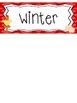 Farm themed Printable What Is the Season Bulletin Board Set.