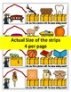 Farm themed digraph literacy center- clip it! Beginning and Ending digraphs