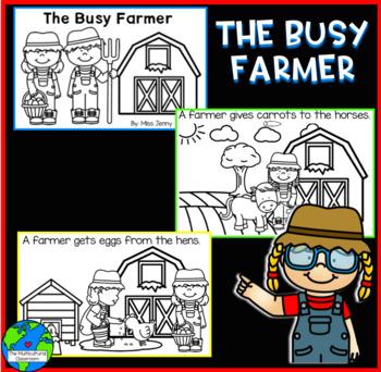Farm themed printable little readers