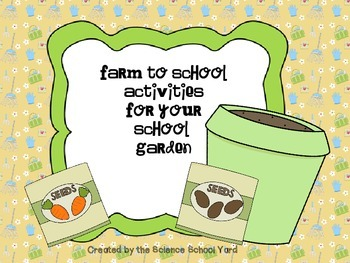 Farm to School Garden Activity Pack