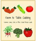 Farm to Table Cooking & Literature Guide with Recipes