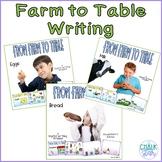 Farm to Table Writing Bundle Google Slides