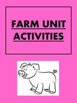 Farm unit activities - Fun for Little Kids