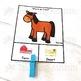 Farm v Desert Animals Sorting Categories Task Cards