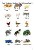Farm voabulary worksheets and games