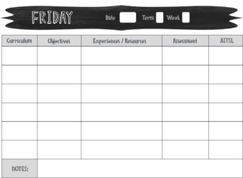 Daily Planning Pages - 4 Designs - Editable*