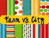 Farm/City Literacy Games
