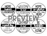 FarmHouse WELCOME Pencil Tags!
