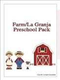 Farm/La Granja Preschool Pack