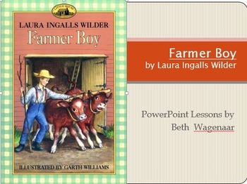 Farmer Boy Chapters 1 and 2 PowerPoint using Common Core Standards