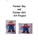 Farmer Boy and Farmer Girl Writing and Art Project