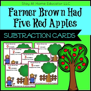 Farmer Brown Has Five Red Apples Song - FREE Printable