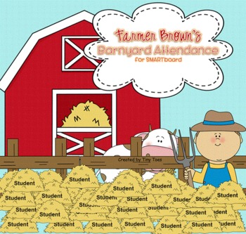 Farmer Brown's Barnyard attendance for SMARTboard