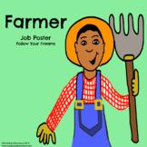 Farmer - Community Helper Poster