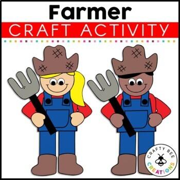 Community Helper Craft {Farmer}