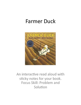 Farmer Duck: A Problem and Solution Read Aloud