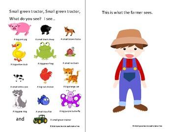 Farmer, Farmer What Do You See- Interactive Attribute Book